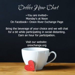 cofee hour post on web
